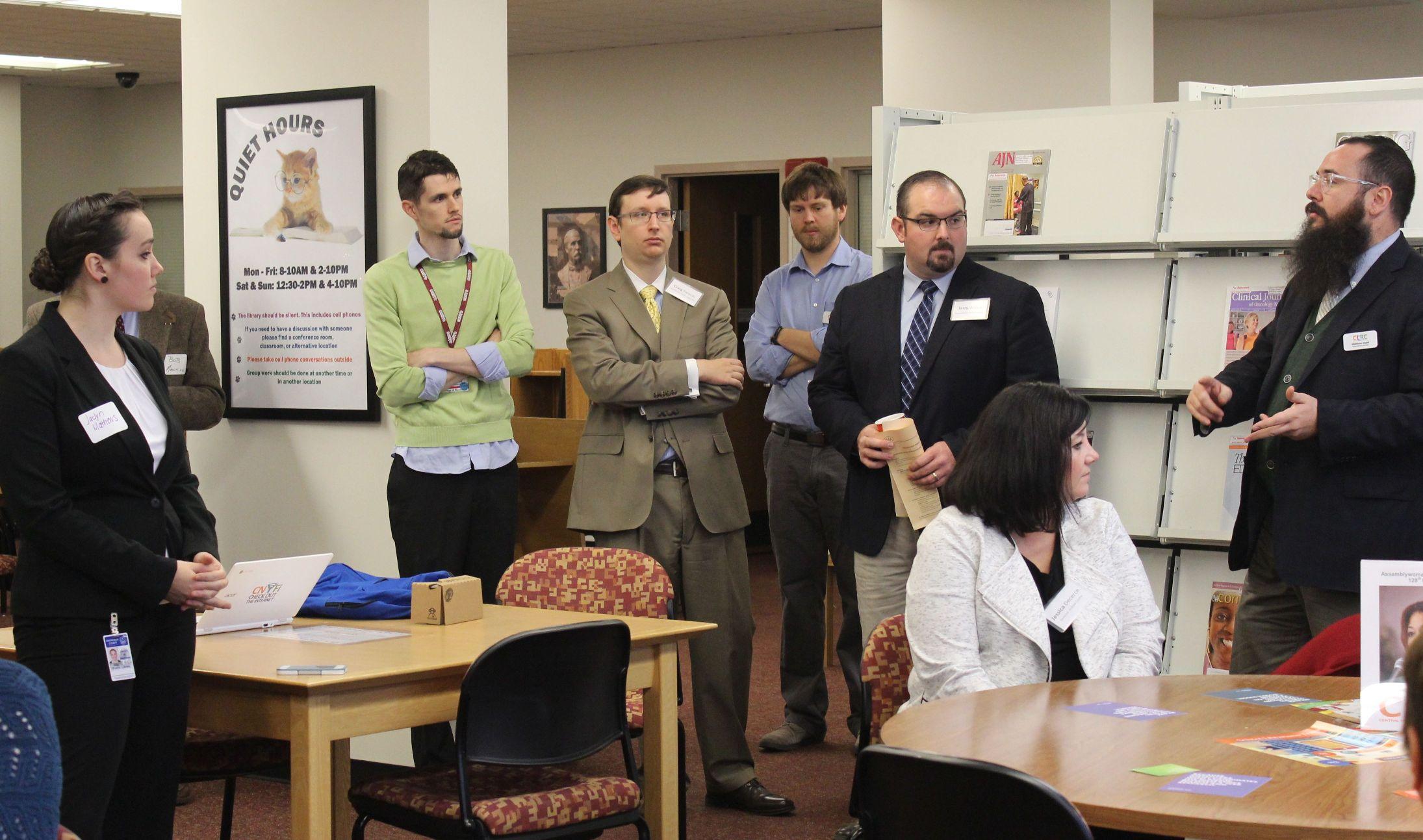 Syracuse Legislative Breakfast Was a Great (Speed) Date | CLRC