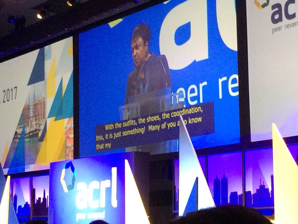 Librarian of Congress Dr. Carla Hayden at ACRL 2017