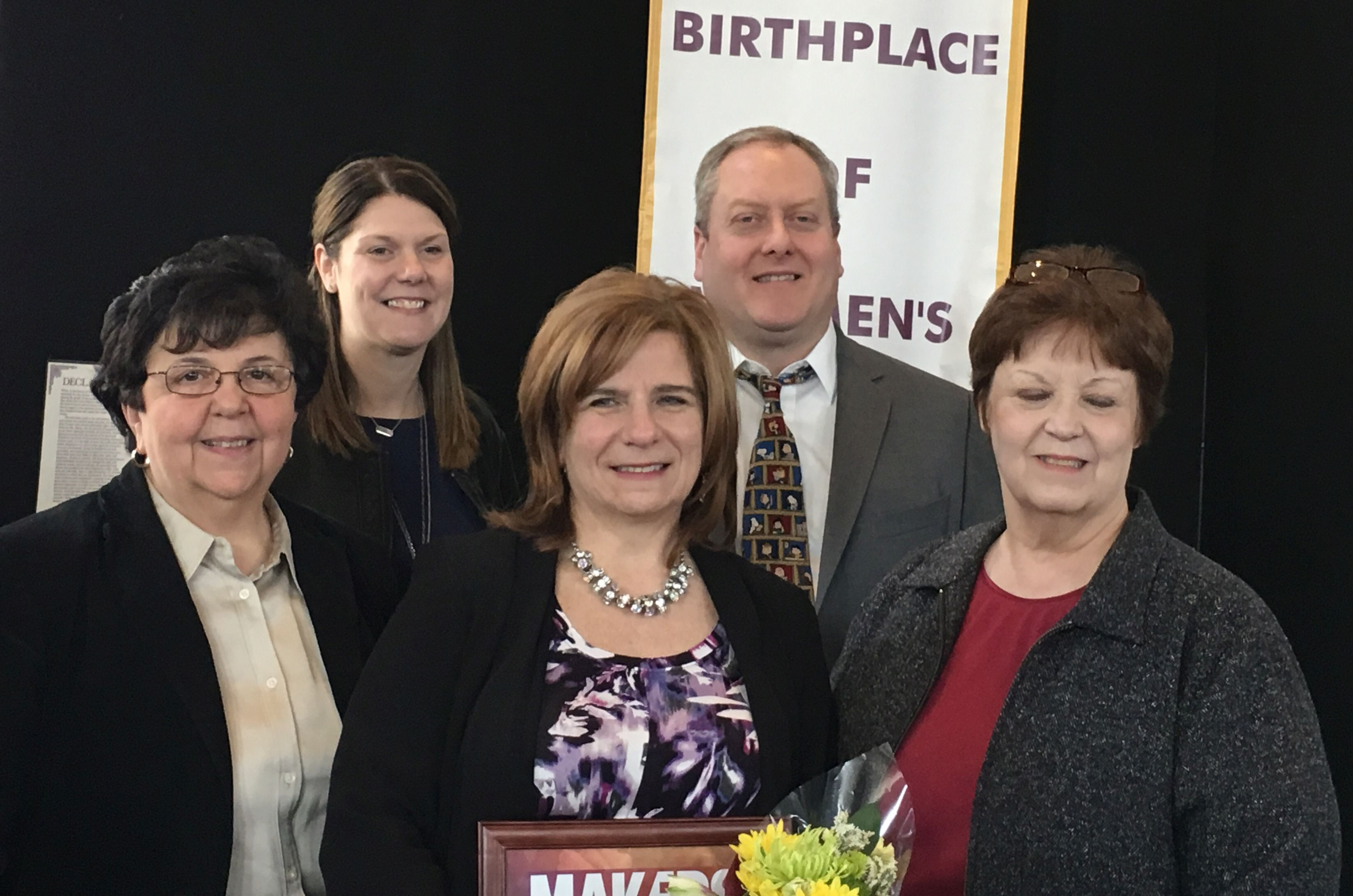 "ESM Librarian Receives ""Women Who Make America"" Award 