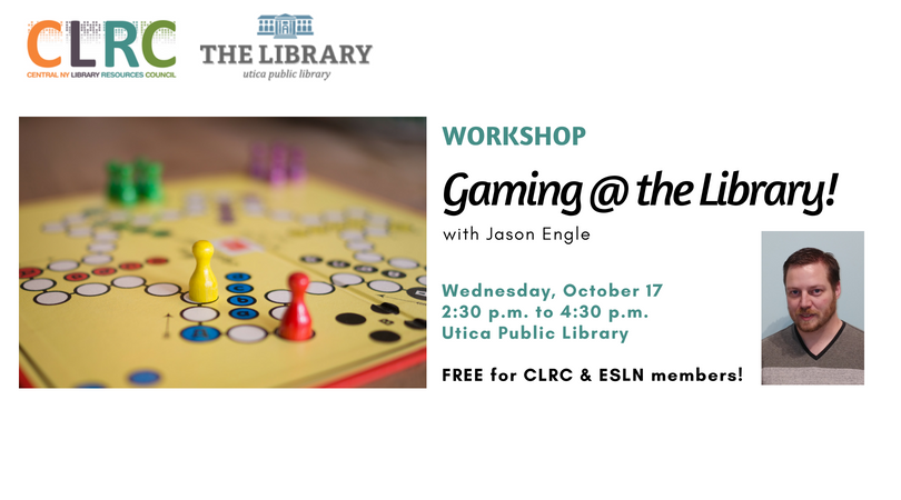 Workshop: Gaming @ the Library!