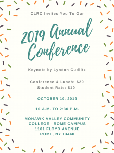 2019 Annual Conference Flyer