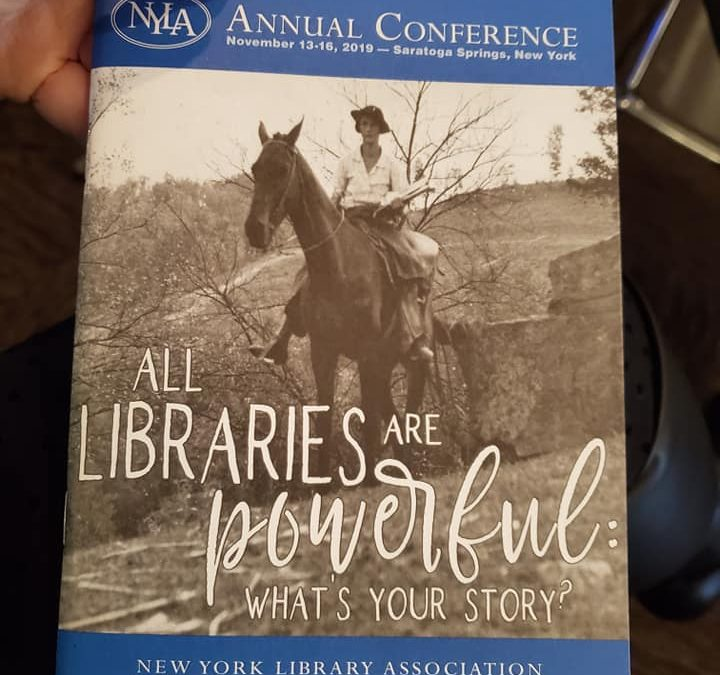 Giovanna R. Colosi, CLRC Professional Development Award Recipient, Talks About the New York Library Association Conference