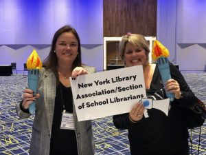 Elizabeth Hartnett, CLRC Professional Development Award Recipient, Talks About the American Association of School Librarians Conference